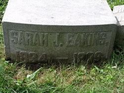 Sarah Jane <i>Gamble</i> Eakins