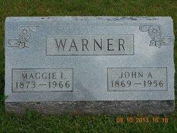 Maggie Irene <i>Richardson</i> Warner