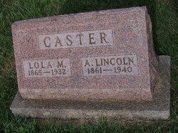 Abraham Lincoln Caster