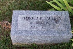 Harold R. Bauman