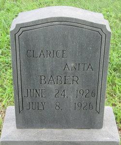 Clarice Anita Baber