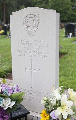 Pvt Alexander Isaac