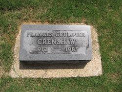 Frances <i>Crumpler</i> Crenshaw