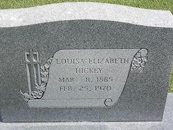Louisa Elizabeth <i>Lewis</i> Hickey