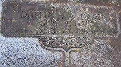 Duffie H Andrews