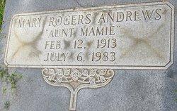 Mary <i>Rogers</i> Andrews