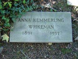 Anna M Wrikeman