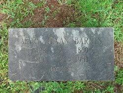Mary Texan <i>Kilpatrick</i> Barnes