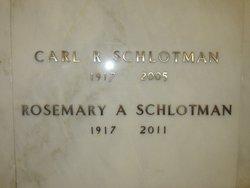 Rosemary A Schlotman