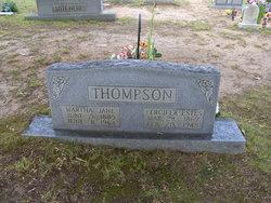Martha Jane <i>Austin</i> Thompson