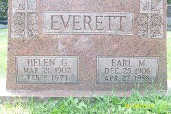 Helen Gertrude Ha <i>Chatfield</i> Everett