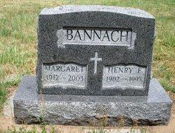 Henry E Bannach