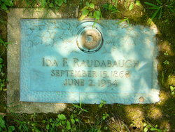 Ida Florence <i>Amick</i> Raudabaugh