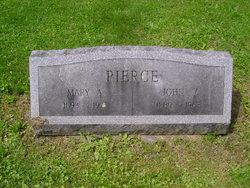 Mary <i>Porter</i> Pierce