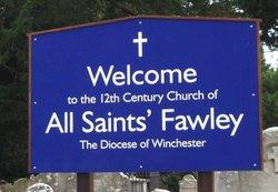 Fawley, All Saints Churchyard