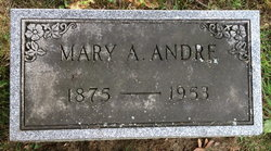 Mary A <i>Rummel</i> Andre