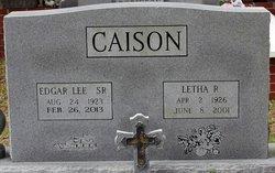 Edgar Lee Caison, Sr
