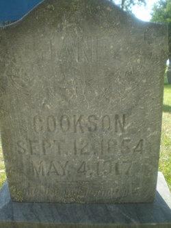 Jane Elizabeth <i>Willison</i> Cookson