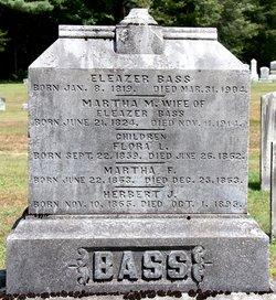 Martha <i>Moses</i> Bass
