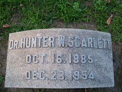Dr Hunter W. Scarlett
