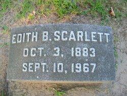 Edith <i>Burton</i> Scarlett