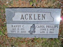 Carol <i>Phillips</i> Acklen