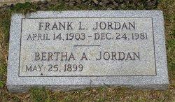 Bertha <i>Allman</i> Jordan