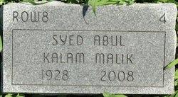 Syed Abul Kalam Malik