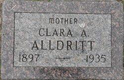 Clara A. <i>Von Eschen</i> Alldritt