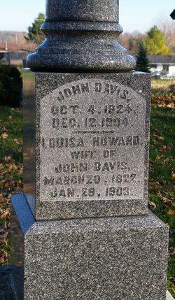 Louisa <i>Howard</i> Davis