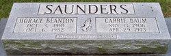 Horace Blanton Saunders