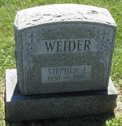 Stephen J Weider
