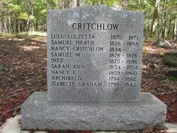 Isabella <i>Graham</i> Critchlow