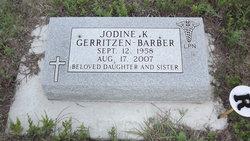 Jodine K. <i>Gerritzen</i> Barber