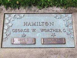 Worther G. <i>Goldsborough</i> Hamilton