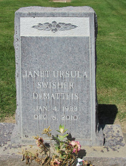 Janet Ursula <i>Swisher</i> DeMatteis