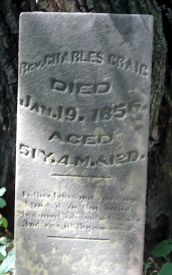 Rev Charles Craig