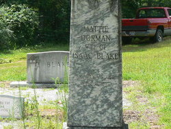 Martha Mattie <i>Dorman</i> Blake