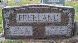 Oran Arville Freeland