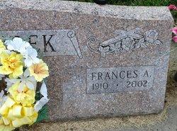 Frances A <i>Sedlacek</i> Koubek
