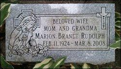 Marion Gertrude <i>Braun</i> Rudolph
