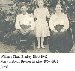 Mary Isabell Belle <i>Brewer</i> Bradley