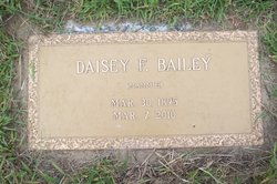 Daisey <i>Flowers</i> Bailey