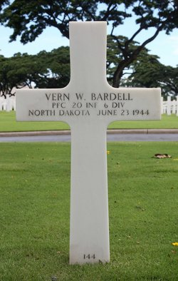 PFC Vern Wesley Bardell