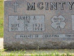 James A Jim McIntyre