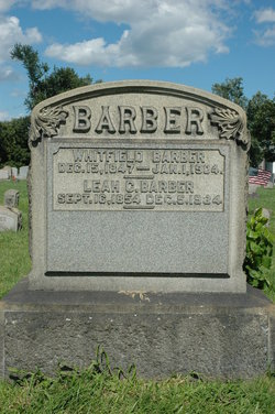 Leah C <i>Danley</i> Barber