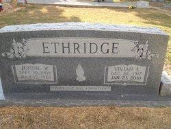 Vivian Lagrace <i>Davis</i> Ethridge