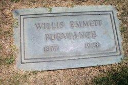 Dr Willis Emmett Purviance