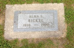 Alma Louise <i>Mueller</i> Bickel