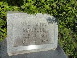 Minnie T. Magruder